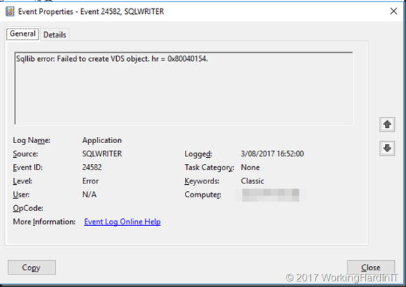Troubleshooting Veeam B&R Error code: '32768'  Failed to create VM
