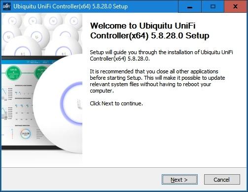 Installer to deploy Ubiquiti UniFi Controller as a Windows