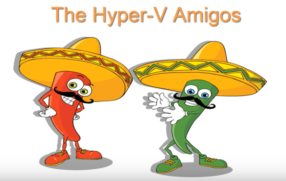 Hyper-V Amigos Showcast Episode 20 and 21