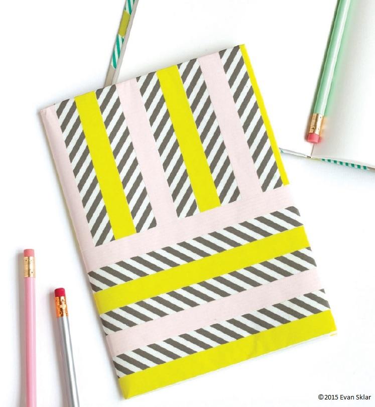 washi tape notebook w credit
