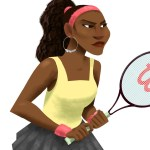 Game, Set, Match: WHO WINS? Illustrator Draws Serena Williams
