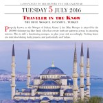 #TravelTuesday: The Blue Mosque, Istanbul, Turkey