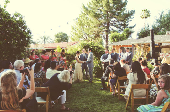 A Backyard Ceremony