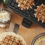 Zucchini-Parmesan Flattened Fritters
