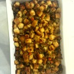 THE MOM 100: Bread Stuffing with Turkey Sausage
