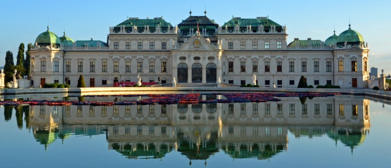 Belvedere Palace Museum in Vienna