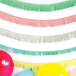 How to Make a Fringed Party Banner