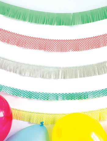 Fringed Party Banner