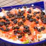 Twelve Layer Taco Dip