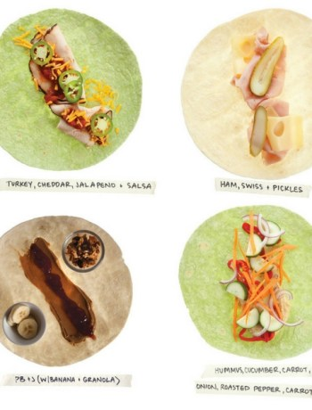 Lunchbox Wraps