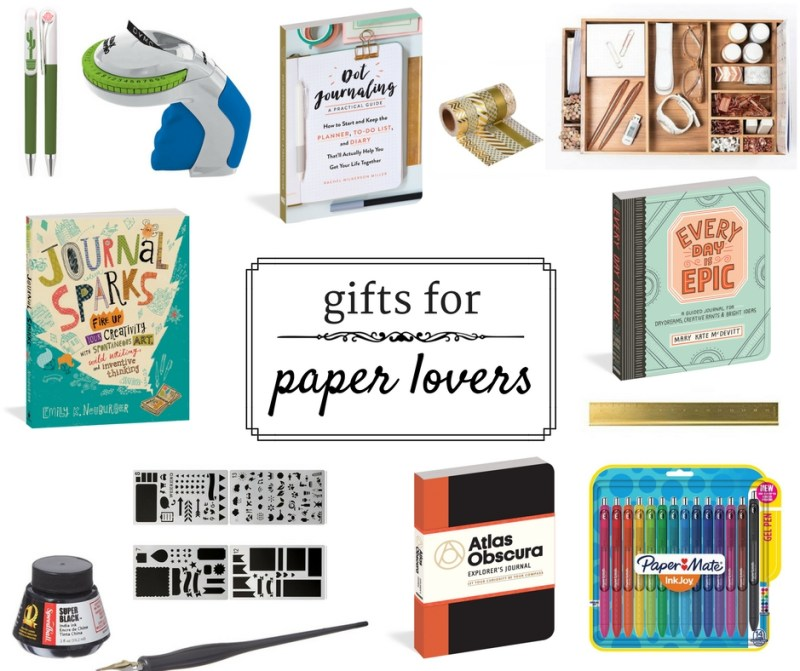 Gifts for Paper Lovers