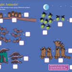 Night Animals! Brain Quest for Kindergarten and Grade One