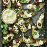 Artichoke Leaf Nachos with Feta and Black Olives (and Cheater's Aioli) from <em> Cooking With Scraps </em>