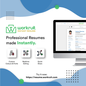Workruit Instant Resume