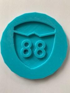 3D Printed Workshop 88 Cookie Cutter