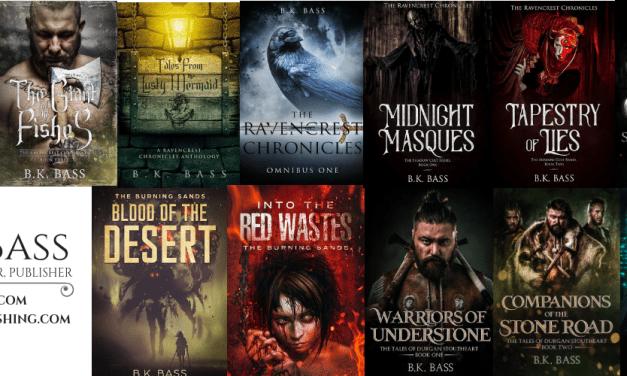 Spotlight Roundup: B.K Bass and Kyanite Publishing