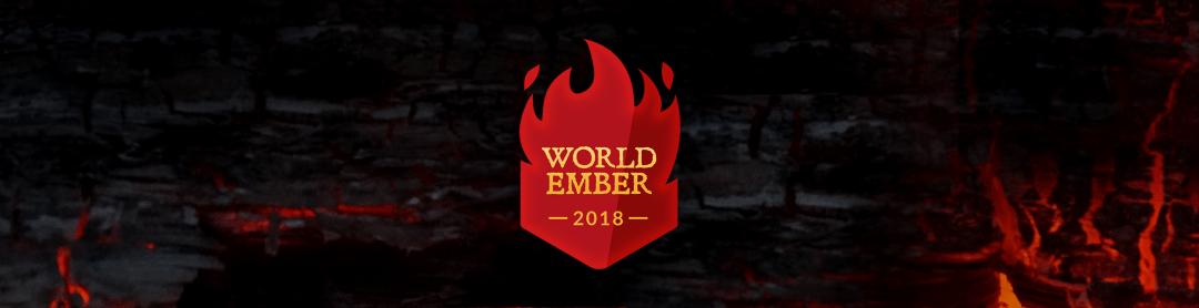 WorldEmber 2018 banner