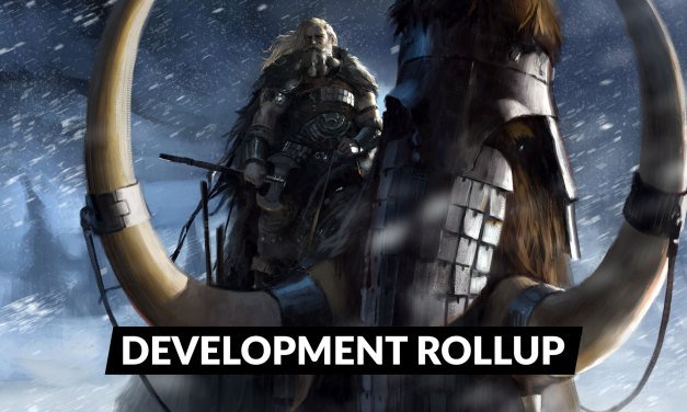 Development Update Rollup for End-of-March