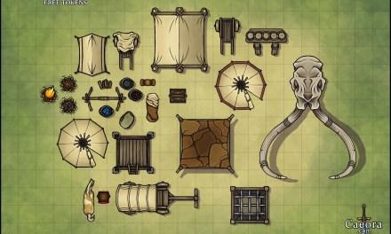 Caeora's Free Battlemap Tokens & Map Making Challenge!