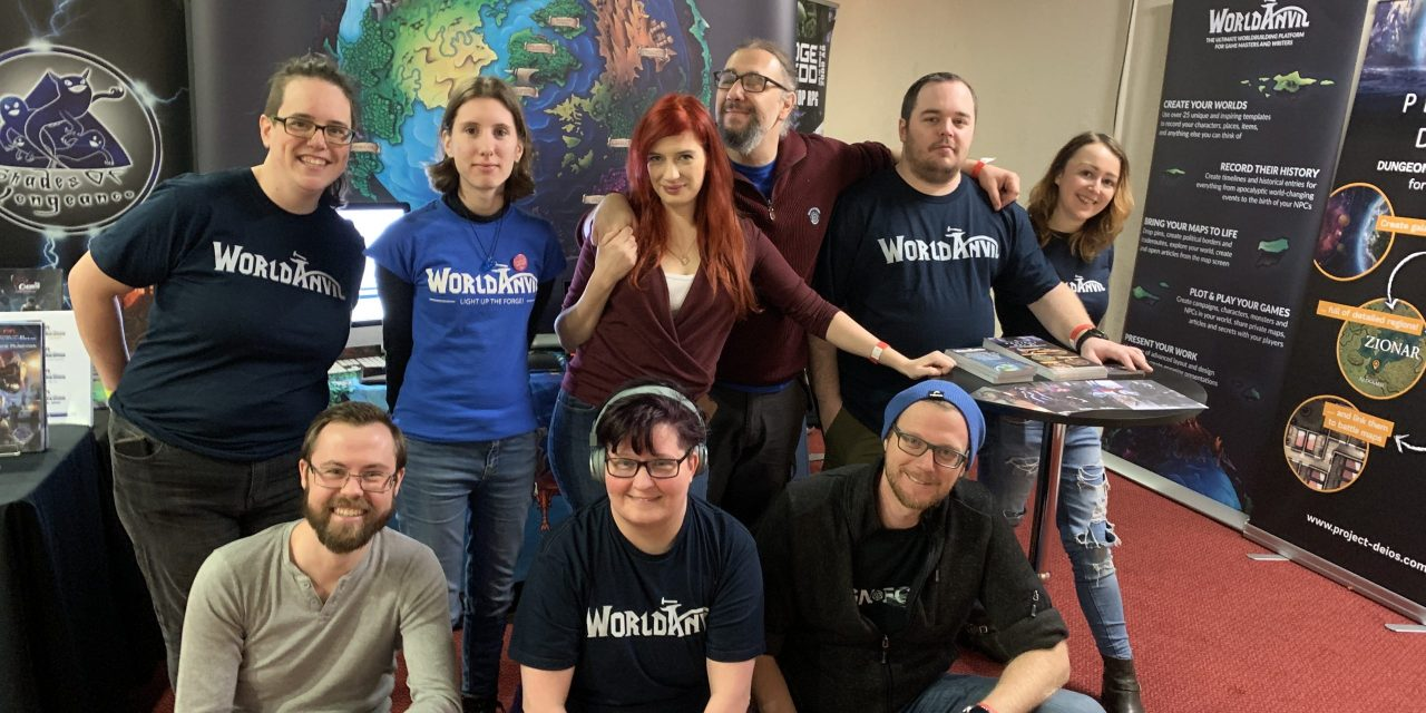 Dragonmeet 2019 – WorldAnvil's second convention