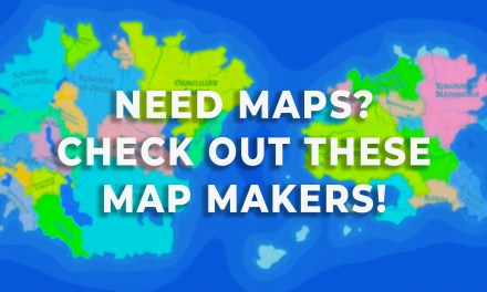 Fantasy Map Makers: premade maps for worldbuilding!