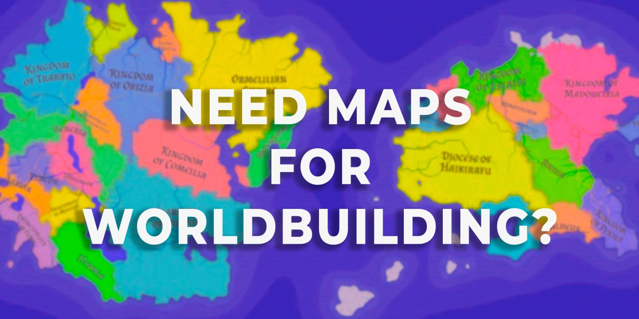 Get maps for worldbuilding your novel or D&D Campaign!