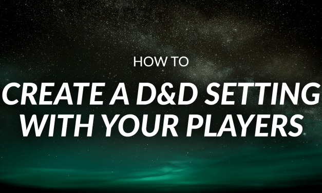 How to Create a Shared World Your Players Love