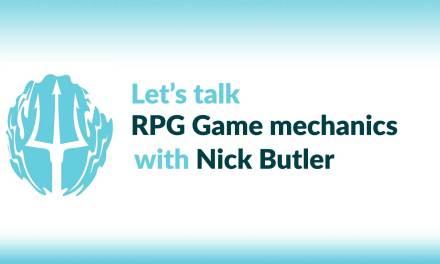 Nick Butler on Tide Breaker, & creating your OWN RPG!