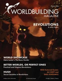 Worldbuilding magazine revolutions issue cover