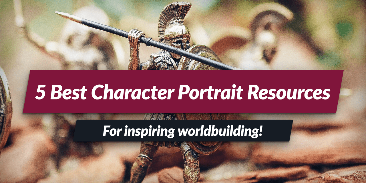 5 best character portraits resources!