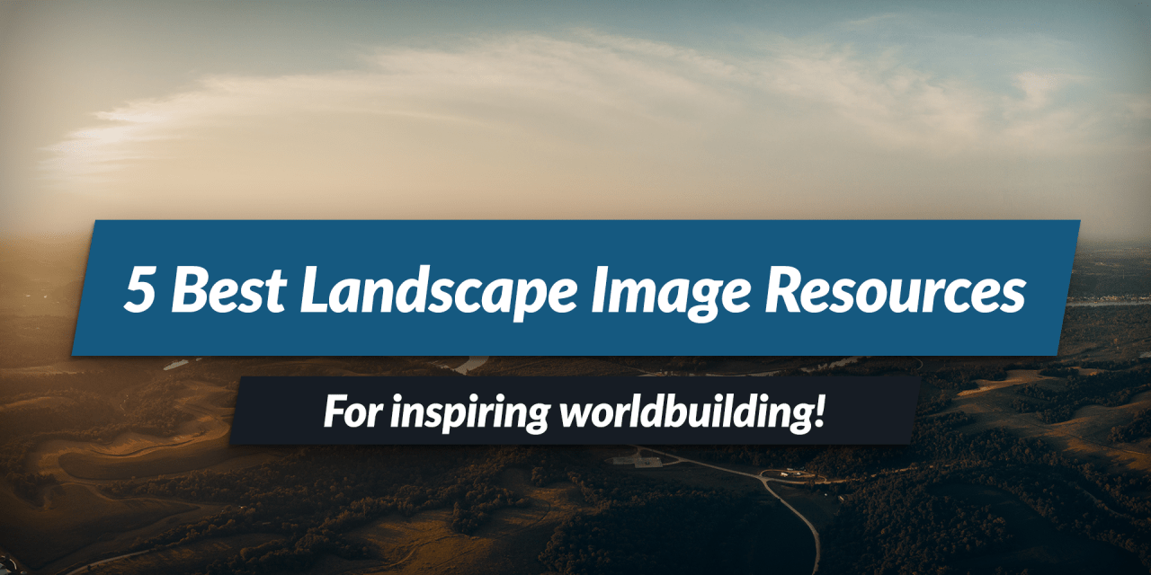 5 best free fantasy landscape images resources