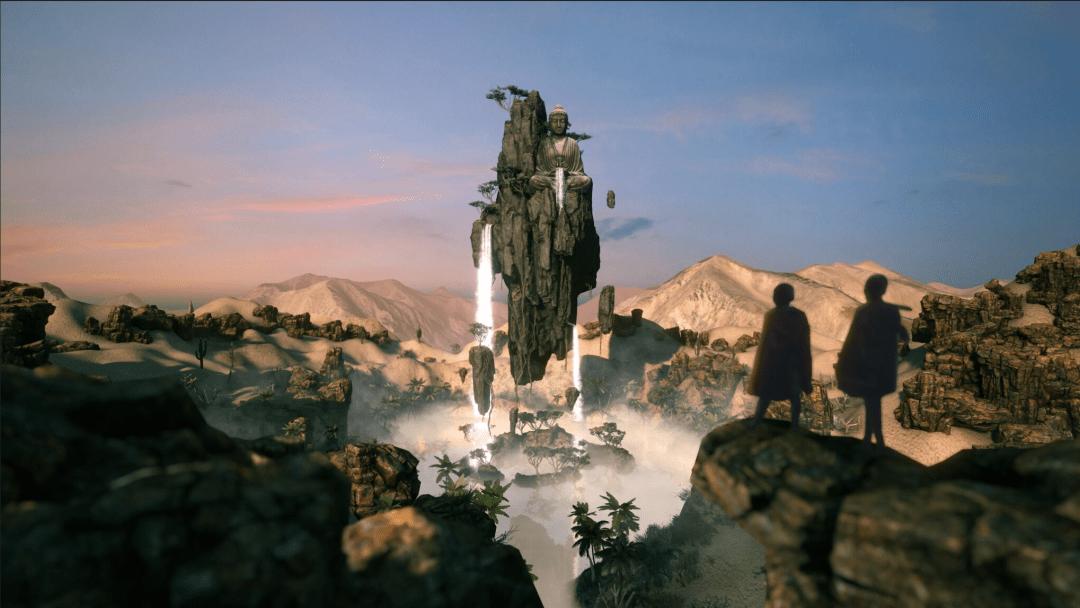 Free fantasy landscape images flowscape