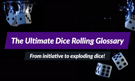 Ultimate RPG dice roller glossary