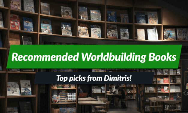 Worldbuilding books collection curated by Dimitris