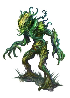 A Vine Golem from Kobold Press's Tome of Beasts 2, - isn't he DEVINE! :D