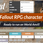 Fallout RPG is ready to run on World Anvil!