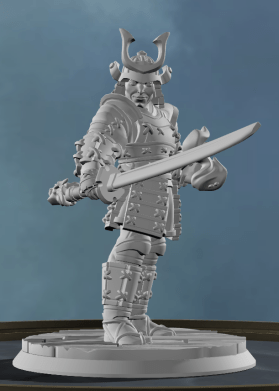 Samurai DnD character ideas from Eldritch Foundry