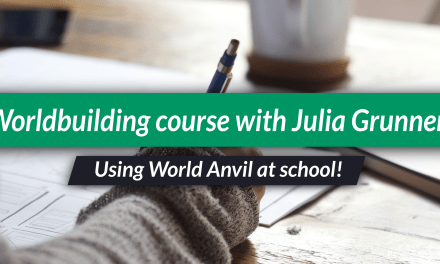 Using World Anvil to teach a writing course!