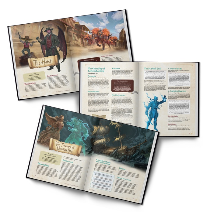 Samples of the Quest-o-nomicon book