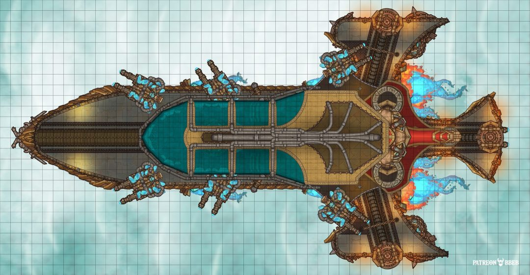 dungeondraft airship map