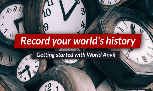 How to start worldbuilding history with Timelines