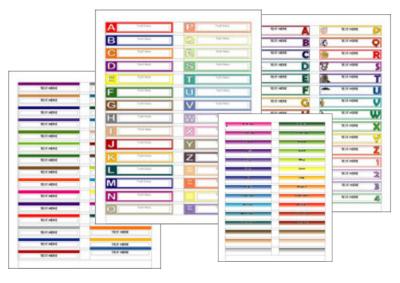 File Folder Labels For Writer Worldlabel Blog