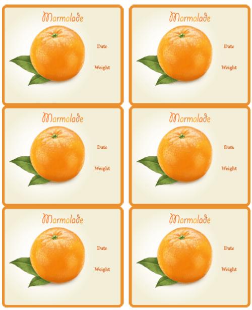 Etichette per marmellate e confetture  Le mille e una