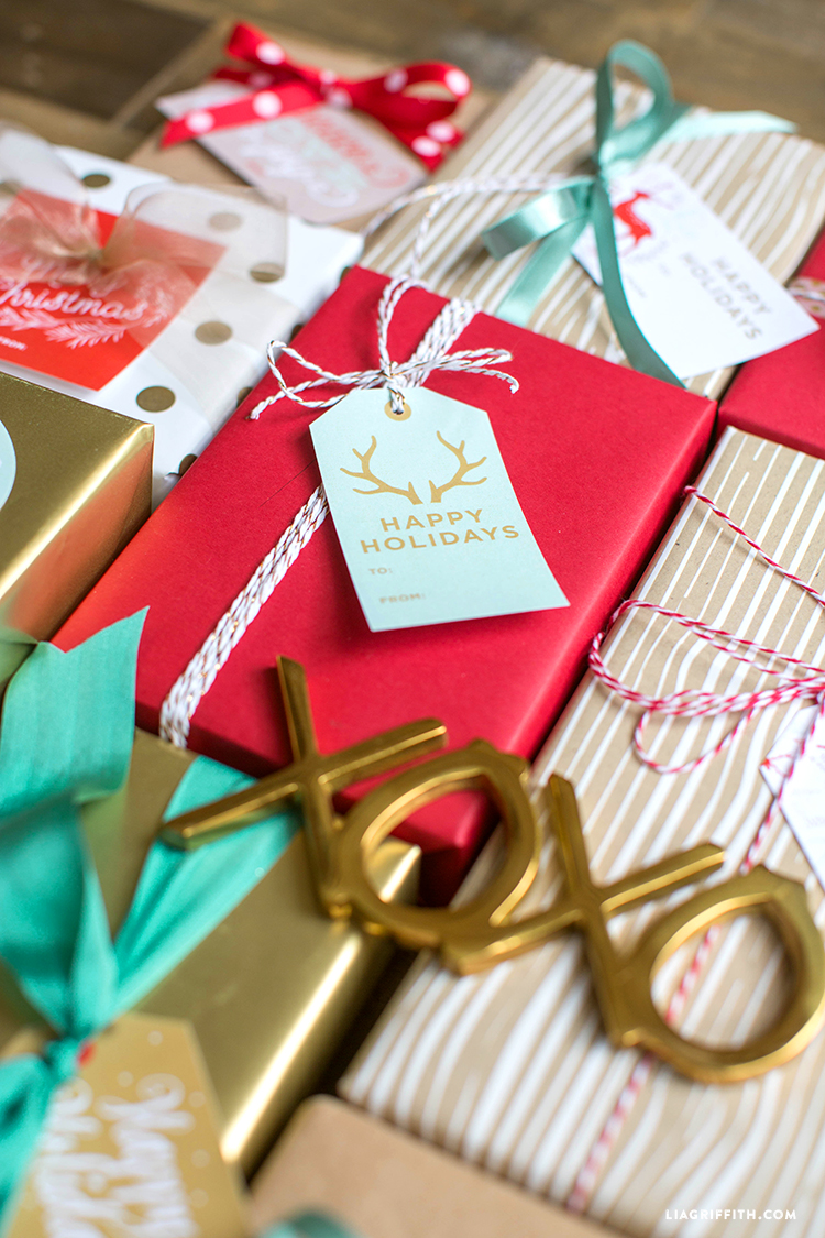 Printable Holiday Gift Labels Amp Tags By The Lia Griffith Studio Worldlabel Blog