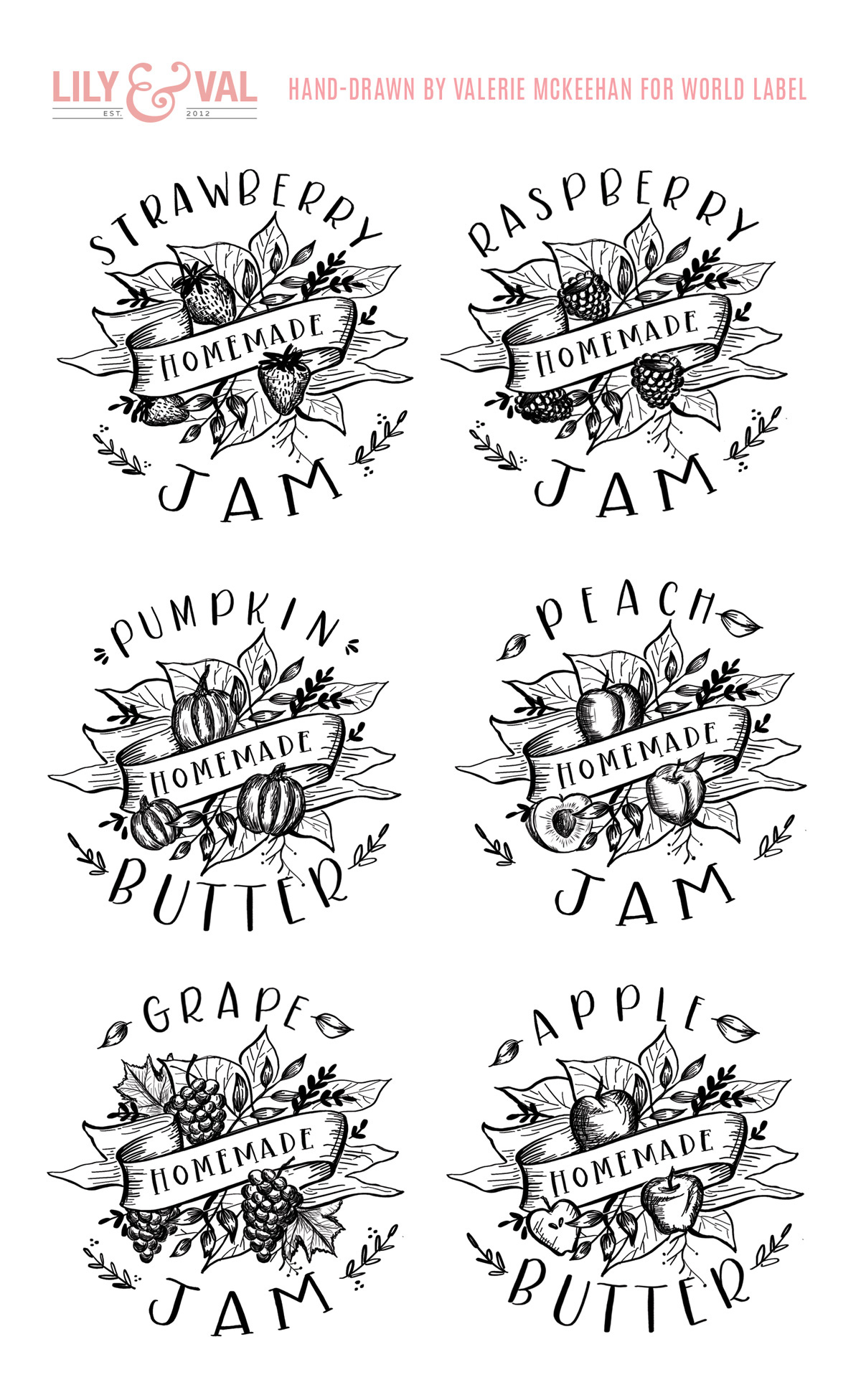 Free printable labels & templates, label design