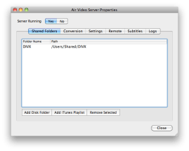 AirVideo Server