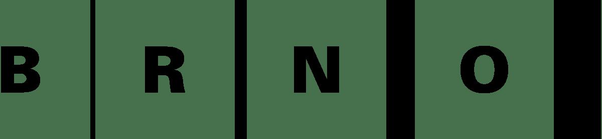 Logo Brno černé