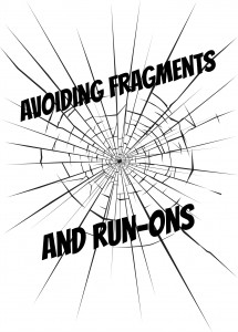Lesson for Young Writers: Avoid Fragments and Run-ons