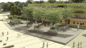 Der Freiraum des Campus (c)Boanet