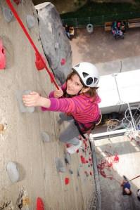 Lernen macht Schule - Kletterexkursion